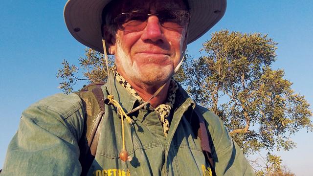 David Lemon on Zambezi Walk in Zambia