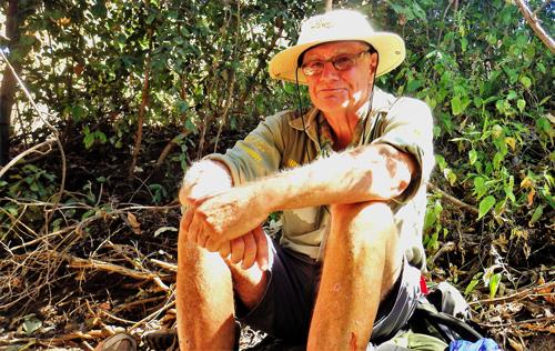 David Lemon on his Zambezi walk